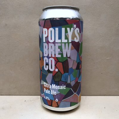 Polly's Brew Co Citra Mosaic Pale Ale