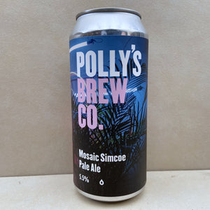 Polly's Brew Co Mosaic Simcoe Pale Ale