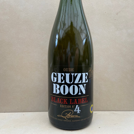 Oude Geuze Boon Black Label Edition No. 4