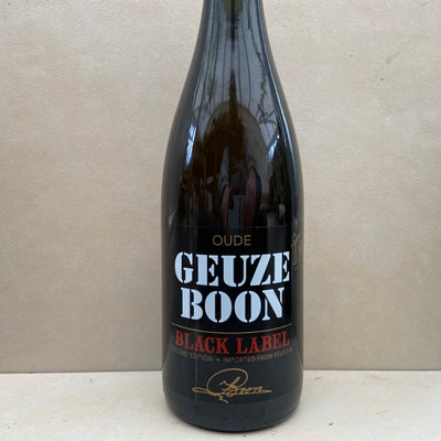 Oude Geuze Boon Black Label Second Edition