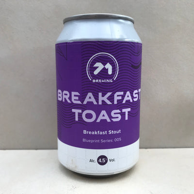 71 Brewing Breakfast Toast
