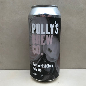 Polly's Brew Co Centennial Citra Pale Ale
