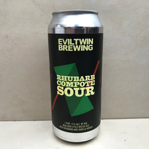 Evil Twin Rhubarb Compote Sour
