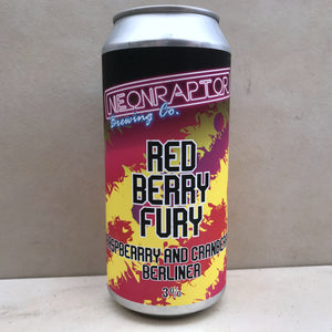 Neon Raptor Red Berry Fury