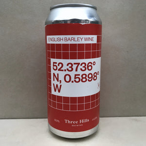 Three Hills English Barleywine