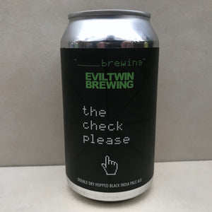 Evil Twin x Blank The Check, Please
