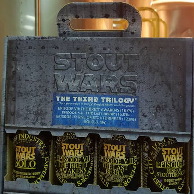Steel City x Lost Industry x Emperors Brewery Stout Wars The Third Trilogy (4 Beers) LIMIT OF ONE PER CUSTOMER