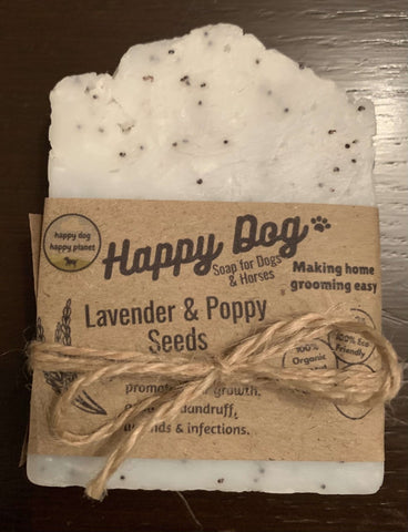 Dog Soap - 🐾 Lavender & Poppy Seed
