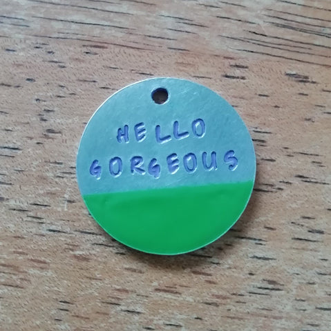 Pet Id Tags (Blocked Colours) - The Dog Hoose
