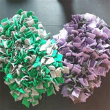 Green & Grey Snuffle Mat - Purple& Dark Grey snuffle mat