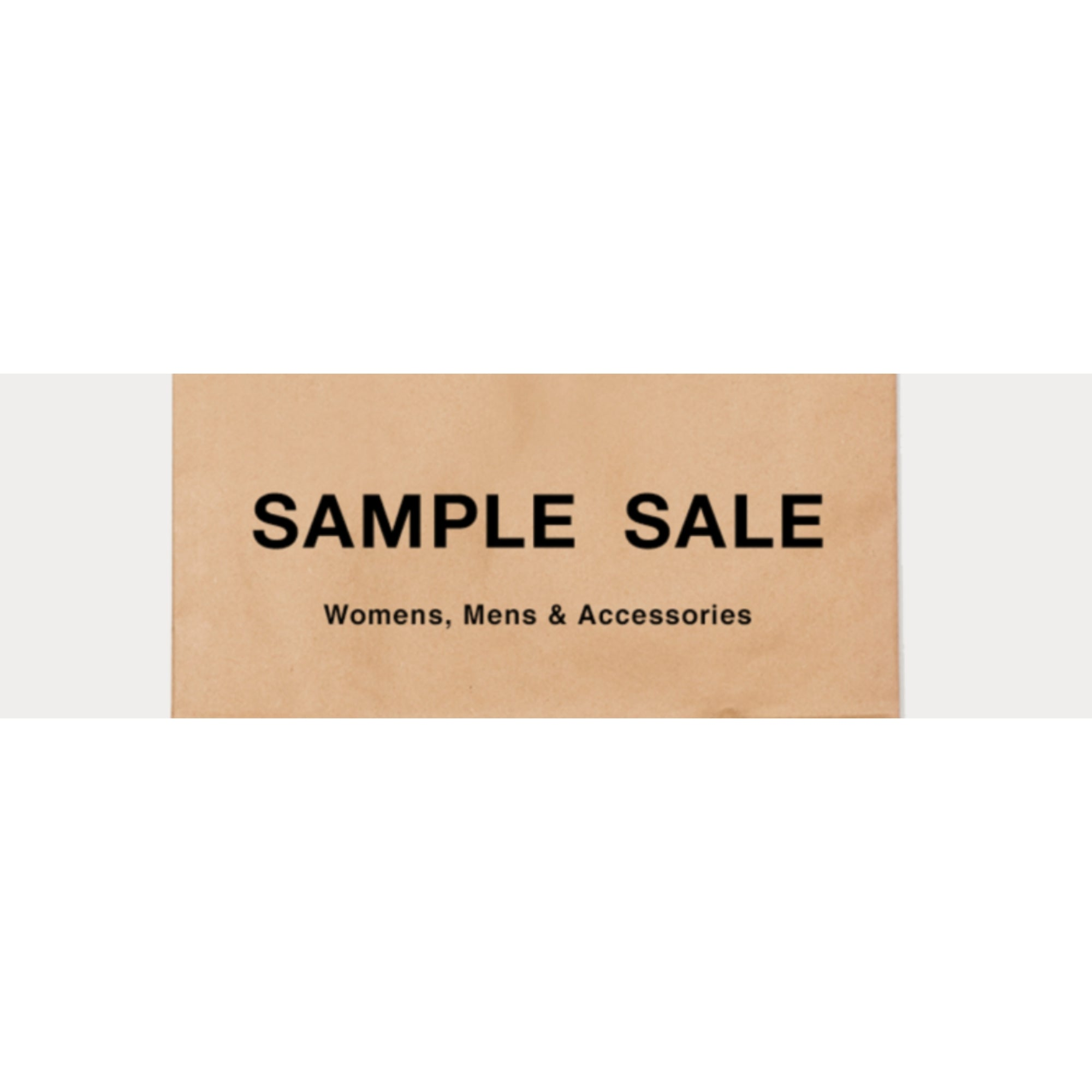 Womens Mens Kids Home NYC Designer Sample Sale Personal Shopper Bandit Designer Fashion