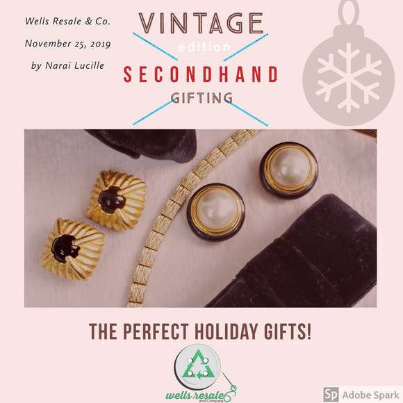 Vintage _ Holiday _ Gift _ Guide _Secondhand _ Gifting