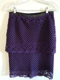 Ohne Titel Lace Skirt sz. 8 - Wells Resale and Company