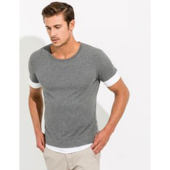 KIT and ACE Cashmere Cotton Layered Willis Tee