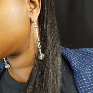 Eddie Borgo Earrings Wells Resale and Company, Bedstuy Vintage Shop,  OnlineThrift Stores