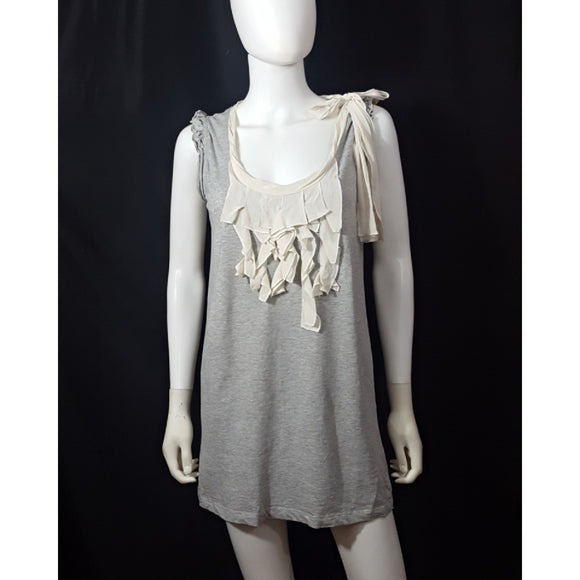Miu Miu Sleeveless Ruffle Top Size Medium
