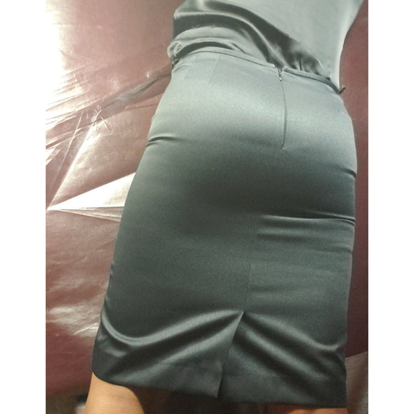 Le'Suit Black Pencil Skirt Size 14