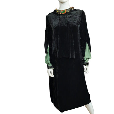 Vintage Velvet Dress Size Medium