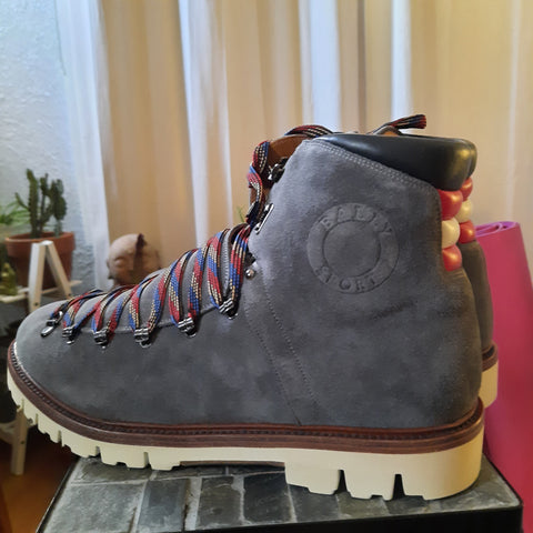 Bally Chack Suede Hiking Boots Size 10