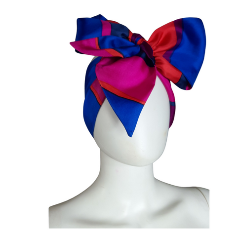 Silk Neck Bow