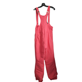 Red 1970s SKYR Vintage Overall Snow Ski Pants, Red Size S