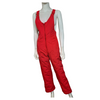 1970s Vintage Ski Pants - SKYR Red Overall Snow - Pants