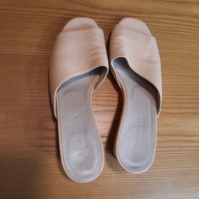 EVERLANE - Wedge - Sandals - Mules - Apricot - Preowned -LGV