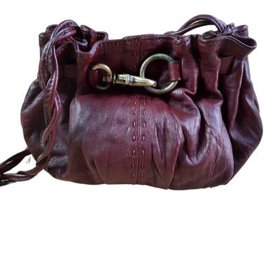 Adrienne Vittadini Leather Crossbody Bag