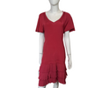 Karen Millen Pink, Pleated Hem Dress, Size 3