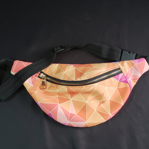 Orange Fannypack Belt Bags