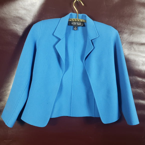 Linda Allard Ellen Tracy Wool Jacket Size 2 Petitie