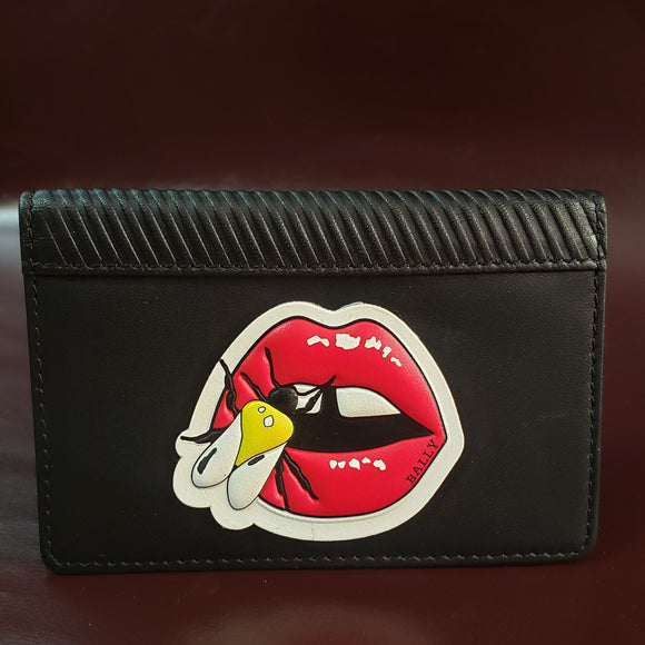 Custom - Genuine Leather - Wallet -Bally - Stickers