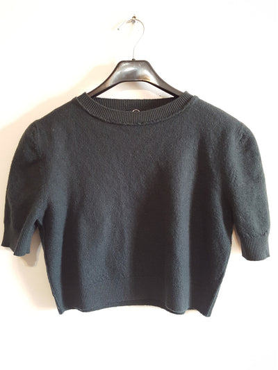 Alexander McQueen MCQ Cropped Wool Top sz. S, Sample Sale, Sweaters, Alexander McQueen, [shop_name