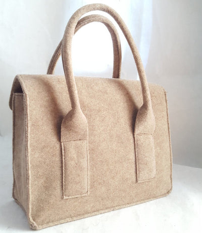 Handmade Felt Satchel, Handbags, Wells Resale and Co, [shop_name