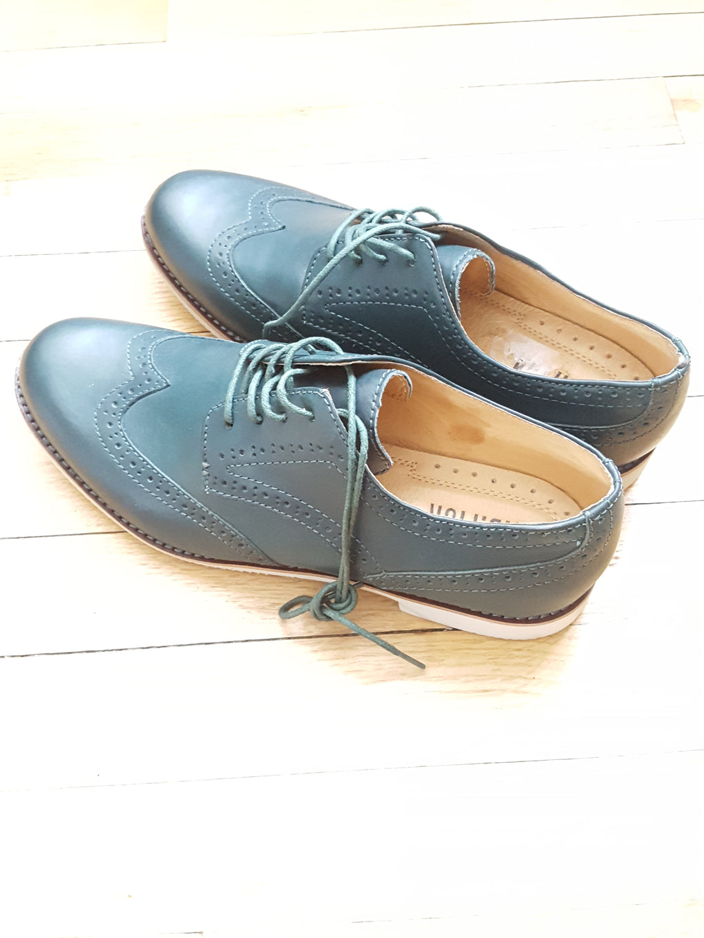 J.D.Fisk Oxfords size 9