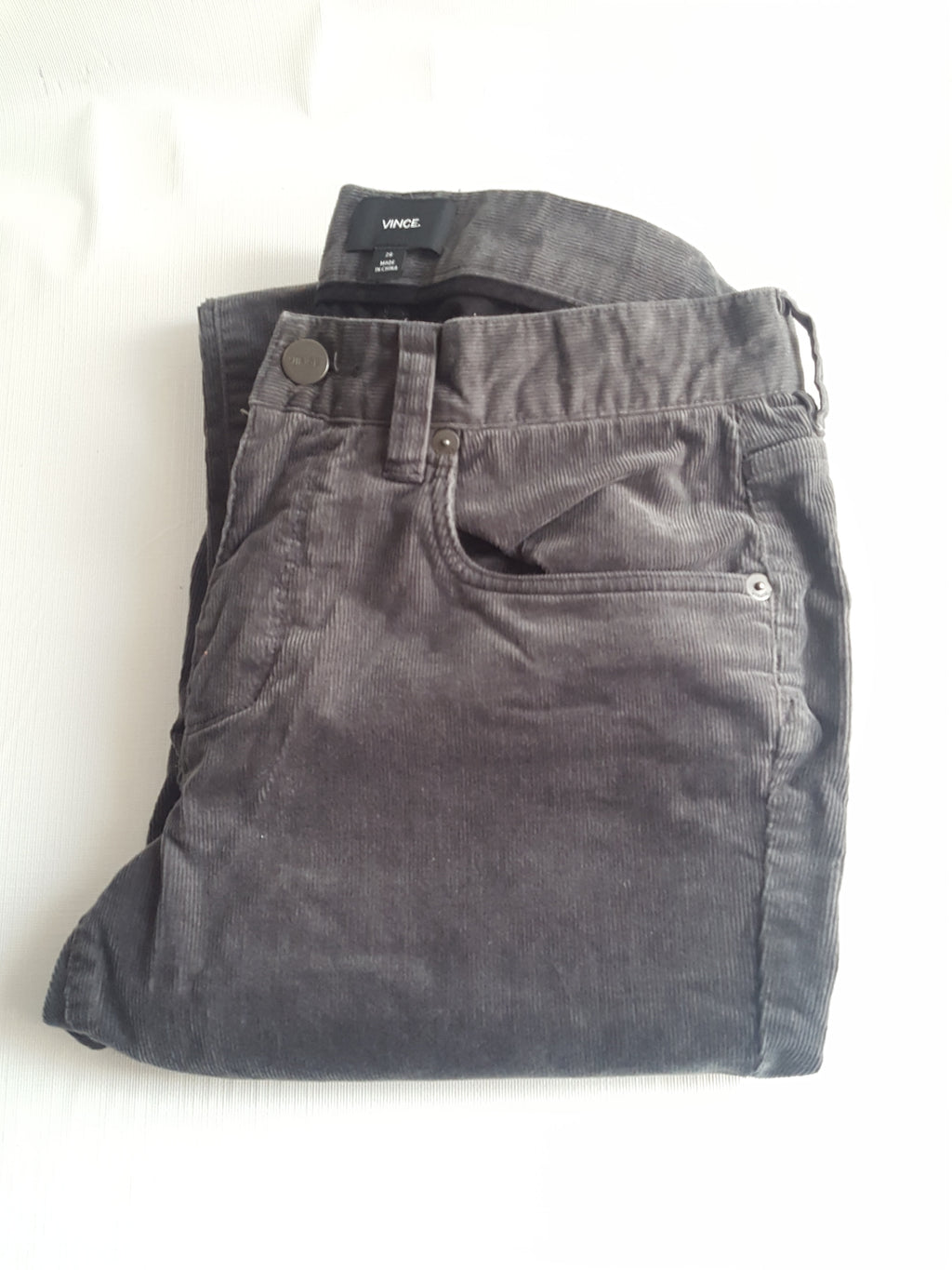 Vince Stretch Courdoruy Slim Fit Pants Sz. 28