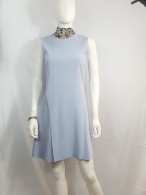 Wes Gordon  Lilac Shift Dress sz. 2