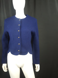 Tally-Ho Wool Cardigan size M
