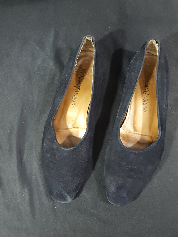 Yves Saint Laurent Vintage Suede Loafers