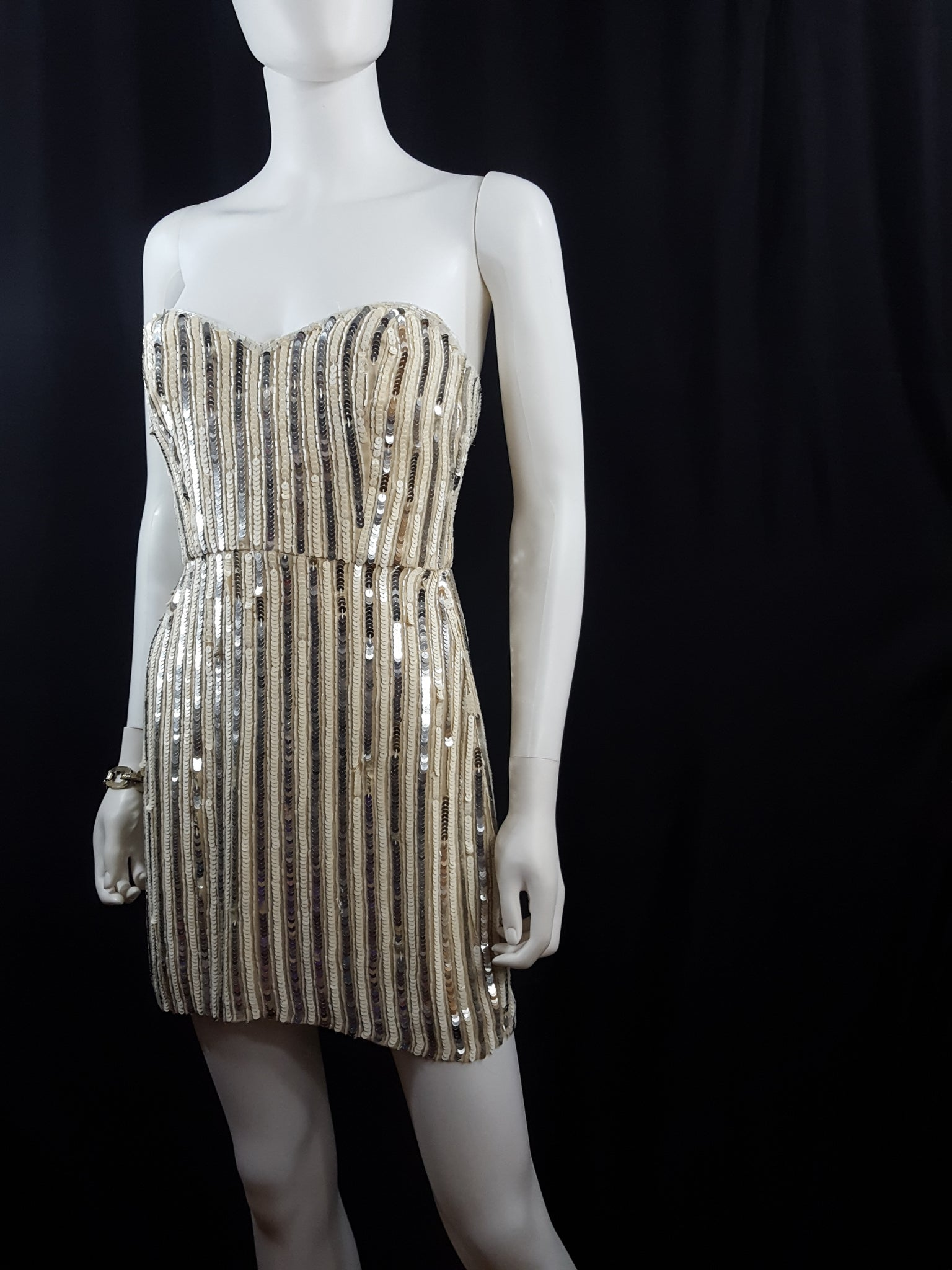 Parker Sequin Mini Cocktail Dress sz. S