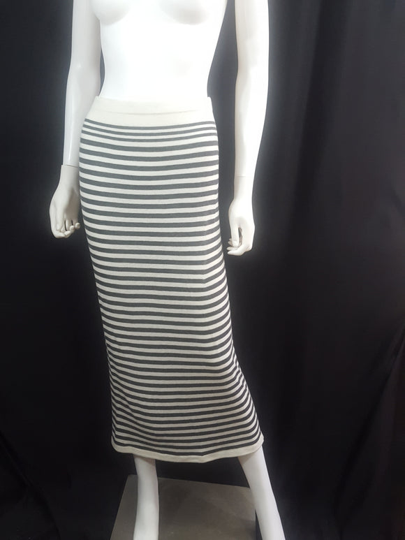 Soft Joie Striped Midi Skirt sz. S