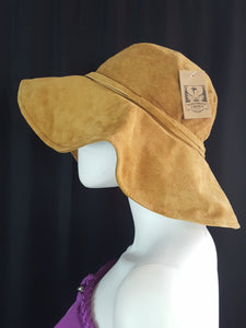 Sartorial Crown Suede Floppy Hat O/S