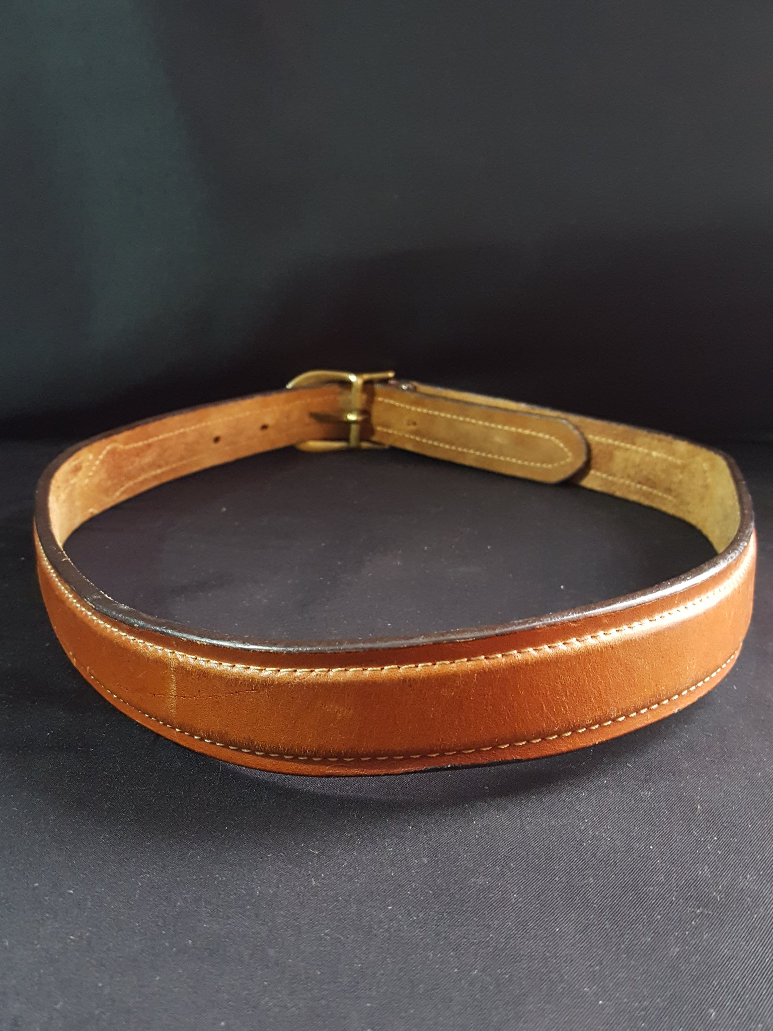 Jordache Leather Belt Size S