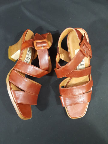 Nine West Leather Sandals Size 6
