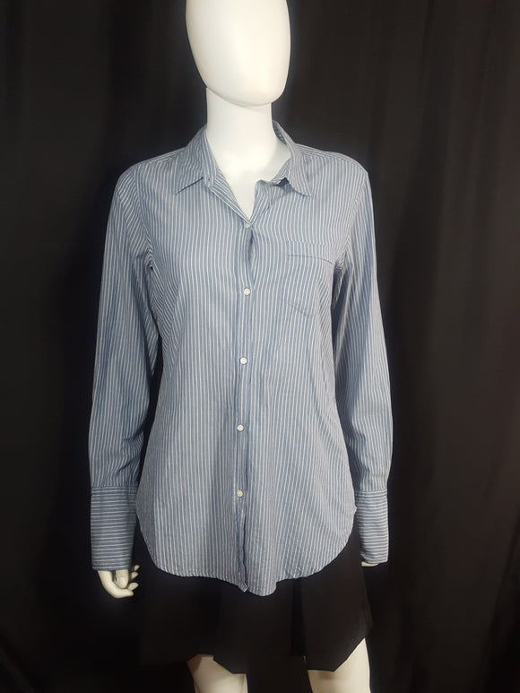 Nili Loton Striped Cotton Shirt size M