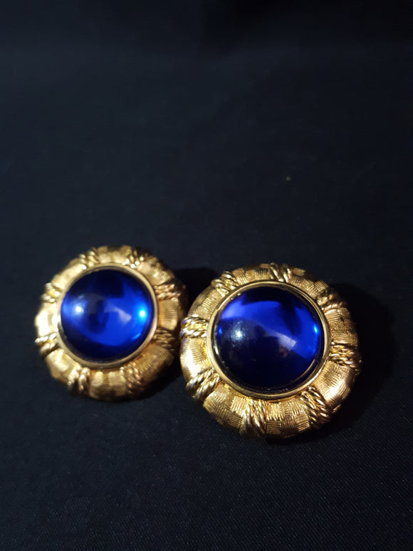 Joan Rivers Dynasty Clip -on Earrings