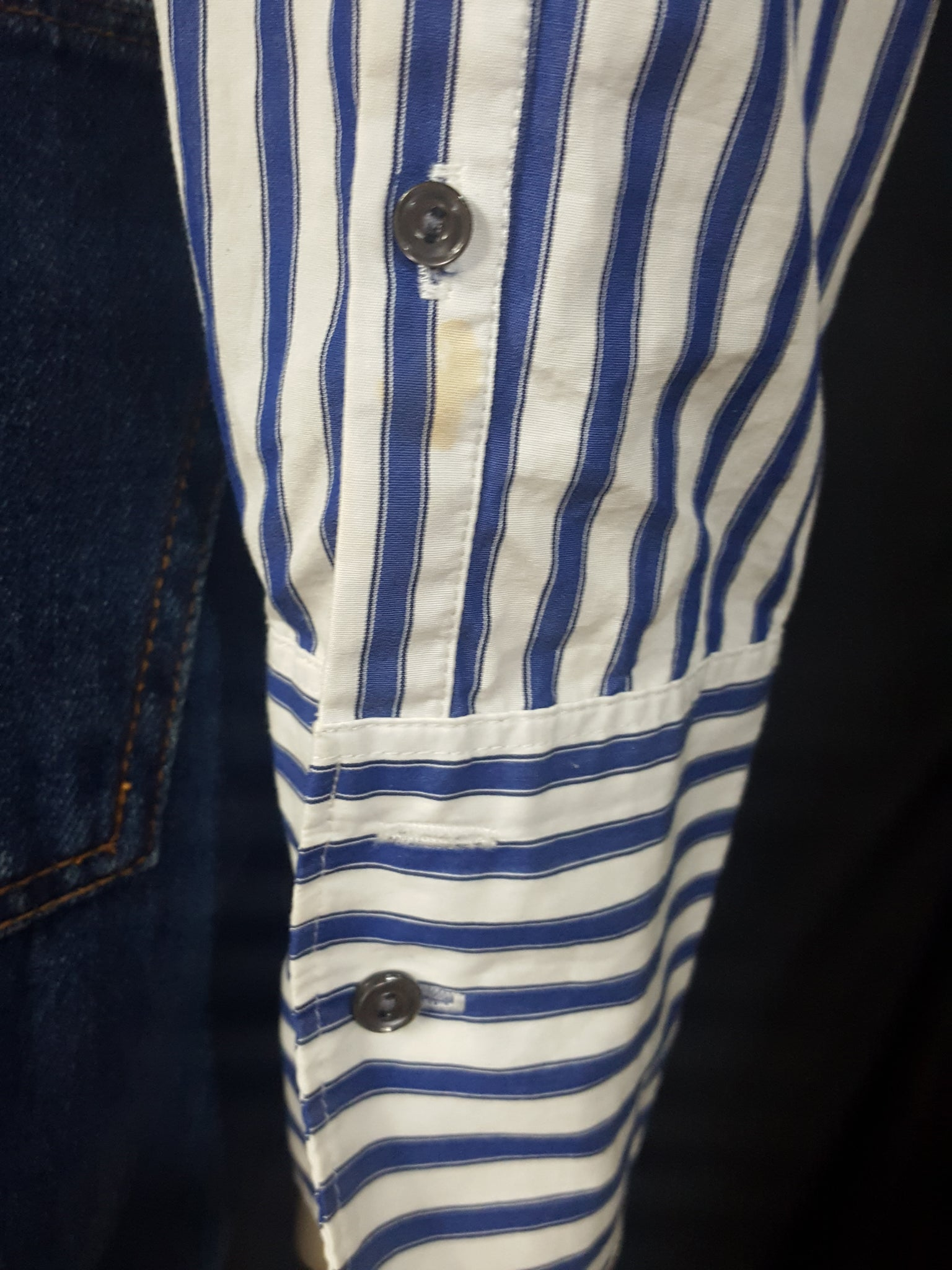 J Crew Striped Beaded Shirt Size 4