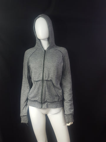 T Alexander Wang Zip Up French Terry Hoodie Size XS