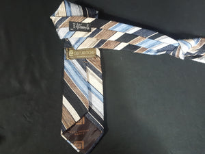 Vintage Guy Laroche Paris  for B. Altman & Co Stripe Neck Tie
