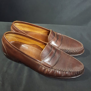 Vintage Salvatore Ferragamo Penny Loafers Size 10